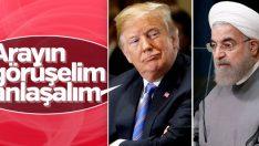 Trump'tan İran'a: Arayın görüşelim