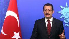 """AK Parti'den İstanbul Açıklaması """"Hile yapmaya dönük birtakım işlerin olduğunu görüyoruz"""""""