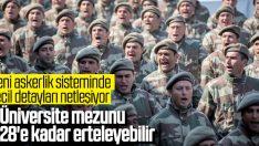 Yeni askerlik sistemi hafta başında Meclis'te