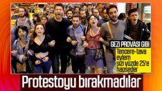 YSK protestoları devam ediyor