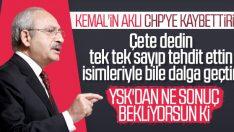 YSK'ya çete diyen CHP başvuru yaptı