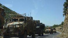 'Pençe Harekâtı'nda askeri sevkiyat sürüyor