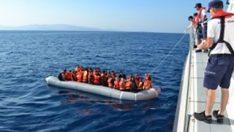 53 göçmenin imdadına sahil güvenlik yetişti