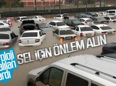 Ankara için sel uyarısı