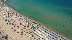 Aydın'da hava sıcaklıkları 40 dereceyi aştı