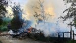 Çorum'da, 2 ev yandı