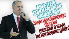 Dağları delerek İstanbul'a su getirdik
