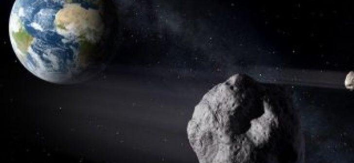 Dev asteroid Dünya'ya çarpabilir