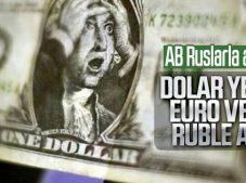 Dolara karşı Rusya ve Avrupa'dan önlem