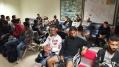Edirne Garı'nda 42 göçmen yakalandı