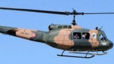 Helikopterden düşen asker şehit oldu