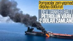 İki tanker saldırıya uğradı, petrol fiyatları fırladı