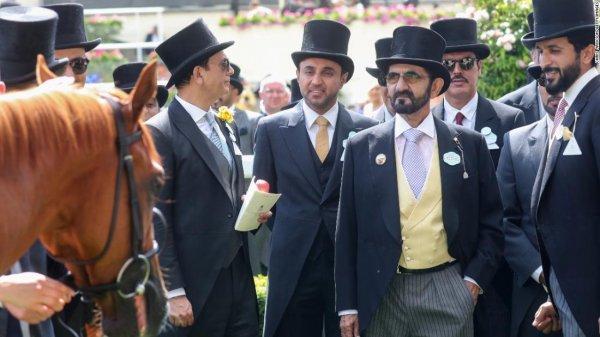 İngiliz Kraliyet Kupası Yarışına Dubai Emiri de katıldı