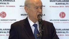 MHP lideri Devlet Bahçeli'den S-400 yorumu