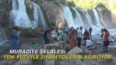 Muradiye Şelalesi yeni yüzüyle ziyaretçilerini ağırlıyor