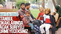 Suriyeliler kamu düzenini bozamayacak