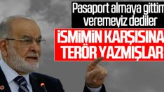 Temel Karamollaoğlu: Pasaportumu iptal ettiler