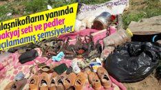 Tunceli'de öldürülen 5 kadın teröriste ait mühimmatlar