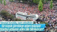 Veysel Eroğlu: CHP'nin İstanbul adayının adını bilmiyorum