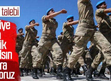 Yeni askerlik sisteminde CHP'nin itirazı