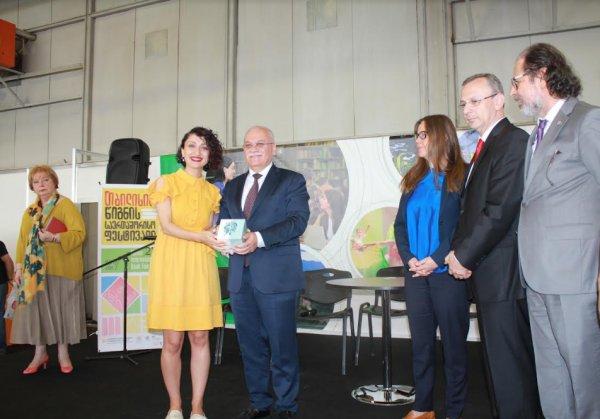 2020 Tiflis Kitap Fuarı'nda, onur konuğu Türkiye