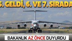 S-400 Füze Savunma Sistemi malzemelerinin sevkiyatı devam ediyor