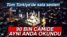 90 bin camide aynı anda yeniden yükseldi