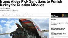 ABD, S-400 yaptırımlarını bekletiyor iddiası