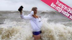 ABD'deki Barry Kasırgası yaşamı durdurdu