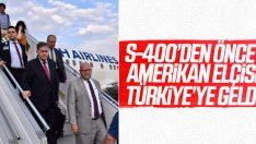 ABD'nin yeni Ankara Büyükelçisi Türkiye'ye geldi