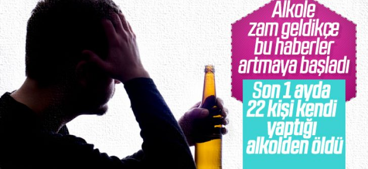 Adana'da metil alkolden 1 kişi daha hayatını kaybetti
