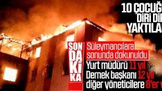 Aladağ yurt yangını davasında karar