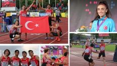 Bakan Kasapoğlu'ndan şampiyon atletlere tebrik!