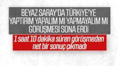 Beyaz Saray'da Türkiye konulu toplantı bitti