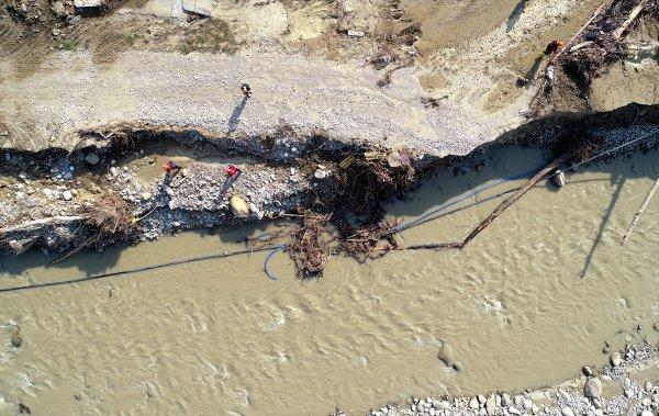 Düzce'deki selde 2 ölü 5 kayıp