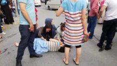 Esenyurt'ta 7 aylık hamile kadına kamyonet çarptı
