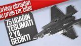 F-35 teslimatlarında gecikme yaşanacak