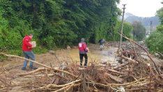 Düzce'de kayıp 7 kişiyi arama çalışmaları sürüyor