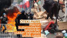Fransa'da göstericiler polisle çatıştı: 152 gözaltı