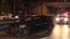 İstanbul D-100 Karayolu'nda trafik kazası: 1 yaralı