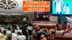 İstanbul'daki Senegalliler ve Cezayirliler finali izledi