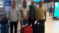 Libya'da alıkonulan 6 Türk gemici Türkiye'de