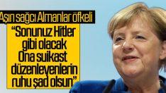 Merkel aşırı sağcıları öfkelendirdi