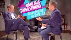 Miçotakis: Baklava, Türk kökenli çok güzel bir tatlı