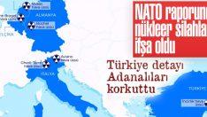 NATO raporunda nükleer silahların yerleri ifşa oldu