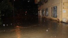 Ordu'da beş saatlik yağmur sele neden oldu