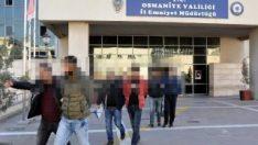 Osmaniye'de DEAŞ operasyonu: 5 gözaltı