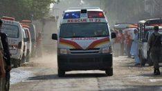 Pakistan'da polise bombalı saldırı: 4 ölü, 20 yaralı