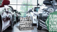 Sıfır araç satışları durma noktasına geldi
