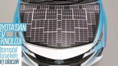 Toyota'nın güneş paneli teknolojisi